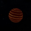 Artist representation of a brown dwarf